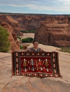 Churro 1337 : Yei Navajo Rug -- I wish we knew the artist's name and where she is. Her work is magnificent! Native American Music, American Indian Art, Native American Fashion, Native American Indians, American History, Native Americans, Navajo Art, Navajo Rugs, Native Indian