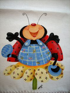 Pano de prato pintura patch by Marguitta, via Flickr