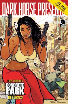 """Living Single"" Actress Erika Alexander Co-Writes Graphic Novel ""Concrete Park"" with Black Heroine"