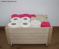 1000 images about cosas recicladas on pinterest pine - Cajas de madera recicladas ...