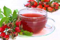Health and Beauty Benefits of Taking Rosehip Tea Healthy Fruits, Healthy Life, Pu Erh, Cranberry Tea, Rosehip Tea, Pasta Casera, Natural Diuretic, Fruit Benefits, Ukrainian Recipes