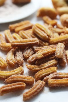 Super Easy Brown Butter Churro Fries with 3 Minute Caramel Drizzle via ...