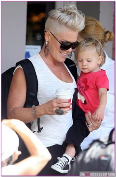 Pink Spends Some Quality Time With Willow