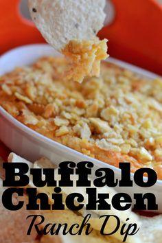 Buffalo Chicken Ranch Dip