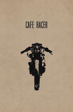 Cafe Racer Print | Inked Iron