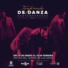 Acompáñanos en todas las funciones de la Temporada de Danza Contemporánea 2016! Acércate más a nuestros creadores y sus más recientes trabajos.  Y apoya así al talento regiomontano.  #VivelaDANZA #ViveCONARTE