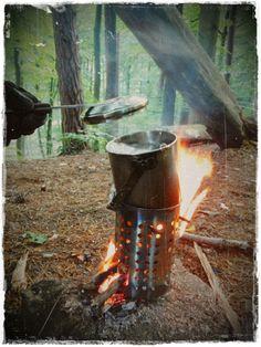 DIY stove + zebra 10