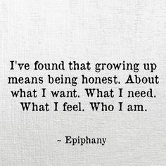 Honestly, honesty with yourself can be extremely hard for me. What about you??? Am I alone?