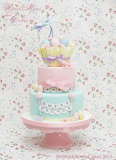 Sweet Easter cake...waiting for spring!  Cake by NanaeNanaCakes