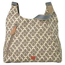 PacaPod Almora Changing Bag, Sand - johnlewis.com