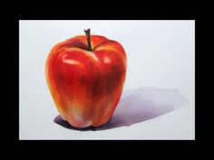 Foundation Course in Watercolor 3 - Apple  基礎水彩示範 - 蘋果 - YouTube