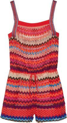 ShopStyle: Missoni Adria crochet-knit playsuit
