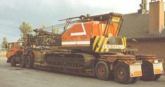Crawler Crane, Classic Trucks, Heavy Equipment, Transportation, Monster Trucks, Plant, Vintage, Europe, Truck