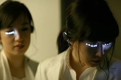 Although still just a concept, the LED Eyelash project by Soomi Park explores the desire that women have for large eyes.