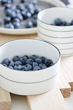Bono bowls - Design House Stockholm Bowl Designs, Barista, Scandinavian Style, House Design, Fruit, Stockholm, Breakfast, Bowls, Dining Room