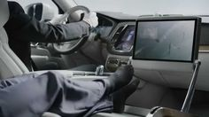 Volvo Cars video introduces Lounge Console concept.
