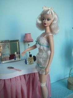Barbie never gets old! Check out more of vintage barbie's timeless looks here! #barbie #vintage