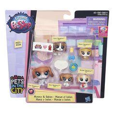 Littlest Pet Shop Beagle Family