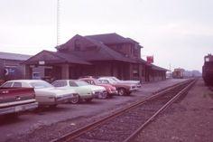 The Fredericton Train Station in 1978 New Brunswick, Train Station, Trains, Digital Marketing, History, History Books, Historia