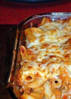 Italian Sausage Baked Pasta - Merry About Town