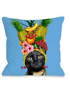 Fruit Pillow by OneBellaCasa at Gilt