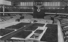 1936 Die neue Deutschlandhalle (Berlin-Westend,Messedamm)