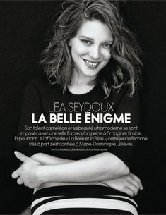Léa Seydoux for Elle France, February 2014