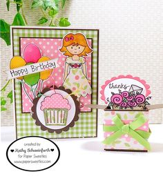 Stamps At Play: Paper Sweeties August Inspiration Challenge & Celebration!