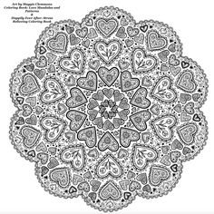 Mandala Magic Adult Coloring Page | politics | Pinterest ...