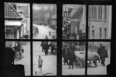 Op 11 april 1945 worden door de Duitse Sicherheitsdienst de stoffelijke resten weggebracht van dertien verzetsmensen die bij het Friese Dronrijp zijn ...