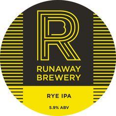 rye-_pump Craft Ale, Beer Coasters, Running Away, Ipa, Brewery, Pump, Beer 101, Beer Labels, English