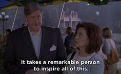 "<b>""It takes a remarkable person to inspire all of this.""</b> In memory of <a rel=""nofollow"" href=""http://www.buzzfeed.com/jarettwieselman/edward-herrmann-has-died#.ap4Rbwjgy"">Edward Herrmann</a>, who died on Dec. 31, and played Richard Gilmore in all seven seasons of <i>Gilmore Girls</i>."