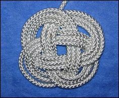 Turk's-Head Knot Coaster how-to