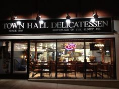 The sandwich is said to have gotten its start at Town Hall Deli in South Orange.