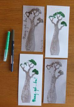 Baobab linocut Lathelize