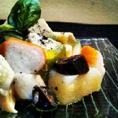 Insalata di avocado al profumo di menta #salad #mint #italianfood
