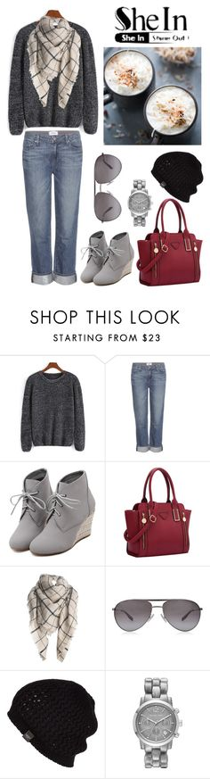 """Comfy Outfit 1"" by jesstyle80 on Polyvore featuring Paige Denim, WithChic, BOSS Black, UGG Australia, Michael Kors, women's clothing, women, female, woman and misses"