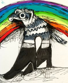 Rainbows and ferrets and boots oh my!