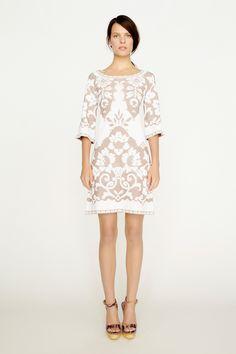 3/4 Sleeve Knit Dress<br/><span class='sku'>34CD002</span>
