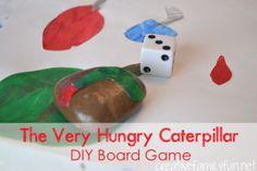 The Very Hungry Caterpillar DIY Board Game ~ Creative Family Fun