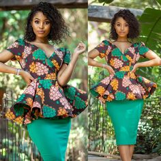 Pictures of the most recent African print tops |Kitenge tops