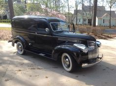 ✿1941 Chevy Panel Delivery✿ Maintenance of old vehicles: the material for new cogs/casters/gears/pads could be cast polyamide which I (Cast polyamide) can produce