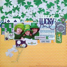 *Lucky Me* NEW Simple Stories A CHARMED LIFE - Scrapbook.com