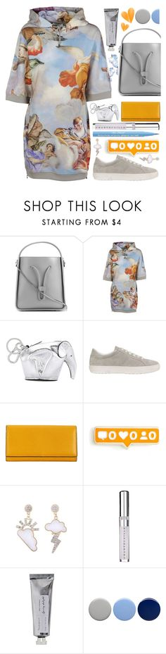 """Goodbye to you"" by sunnydays4everkh ❤ liked on Polyvore featuring 3.1 Phillip Lim, Moschino, Loewe, Tod's, Valextra, Chantecaille, Bloomingville, Burberry and Too Faced Cosmetics"