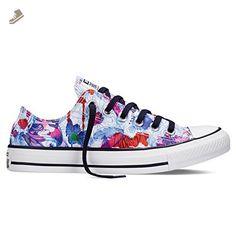 Converse Ctas Daisy Print Womens Trainers White Multicolour - 4 UK - Converse chucks for women (*Amazon Partner-Link)