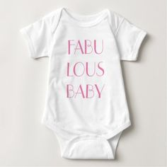 Fabulous Baby Baby Bodysuit - diy cyo customize create your own personalize