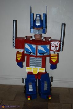 Transformer Optimus Prime - Homemade costumes for boys