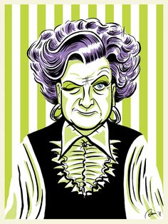 I LOVE Mrs. Slocombe from Are You Being Served? by Hefnatron.deviantart.com