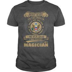 Magician Job Title Tshirt/Hoodie.