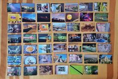 postcards from Cluj, collection curated with Catalin Georgescu photos #fotocolaj